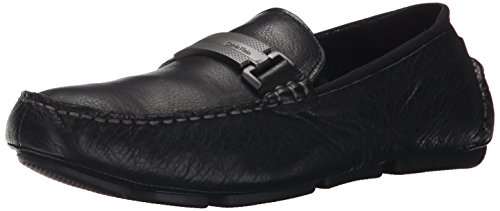 Men's Slip Klein Black Calvin Loafer Tumbled On Maxim Leather qU6v5xHw