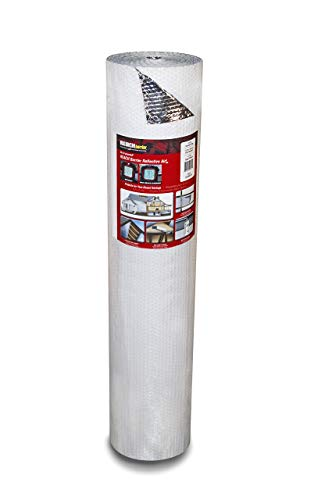 Reach Barrier DD24050 Air Double Reflective Polyethylene Insulation Roll, 4-Feet by 50-Feet
