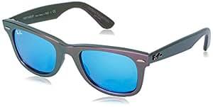 Ray-Ban - Gafas de sol Wayfarer 0rb2140 MOD. 2140 SUN611217, Violeta (Metallic)