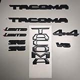 TOYOTA New South East Black Out Emblem Overlay Kit Tacoma 00016-35850