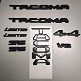 Toyota New South East Black Out Emblem Overlay Kit Tacoma 00016-35850