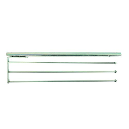 Knape & Vogt P793 ANO Pull Out Steel Towel Bar, 1.31-Inch by 4.81-Inch by -