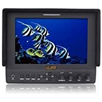 2013 New!lilliput 7 663/s LED Monitor 3G-SDI IPS Hdmi In&out 1080p Peaking with Suit Case