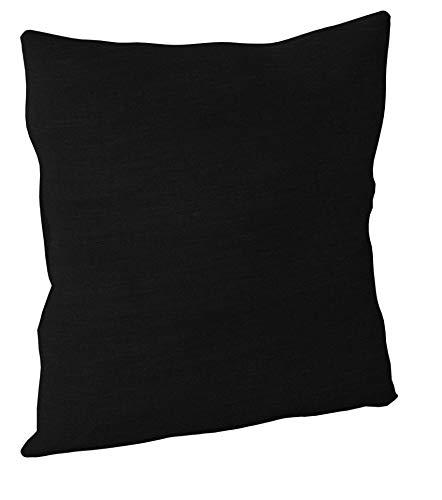 Brentwood 3438 Crown Chenille Floor Cushion, 24-Inch, Black