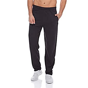 Fruit Of The Loom Comfort Fit Fashion Jogger for Men - Black S