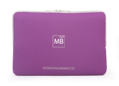 Tucano Elements Second Skin custodia per MacBook Pro 15 Viola
