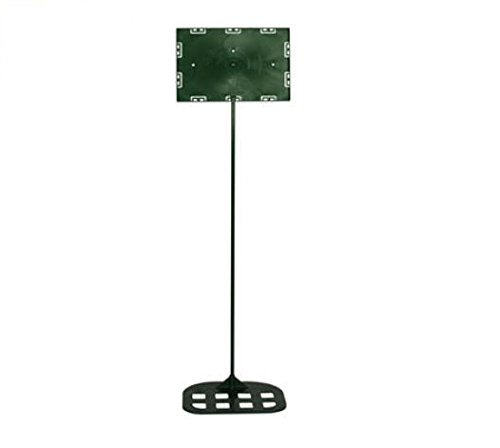 Info Rod (Sign Holder Info-Stand 30 In. Rod Holds 7 In. X 11 In. Face Plate, 7.5 In. X 9 In. Base)