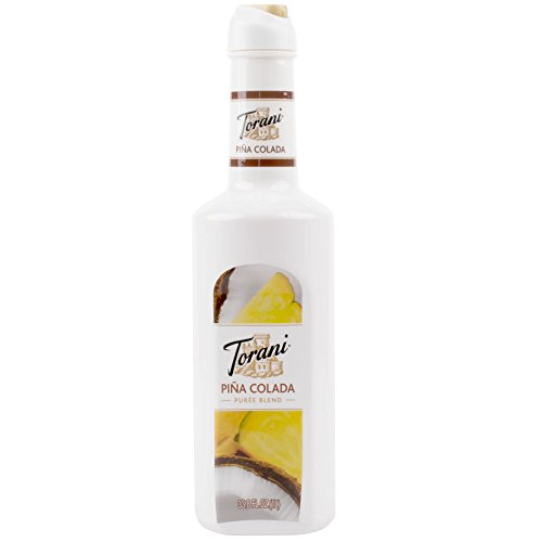 Torani Puree Blend, Pina Colada, 33.8 Ounce