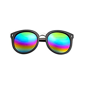 Sunglasses,YJYDAAD Fashion Women Man Sunglasses Vintage Retro Sun Glasses (H)