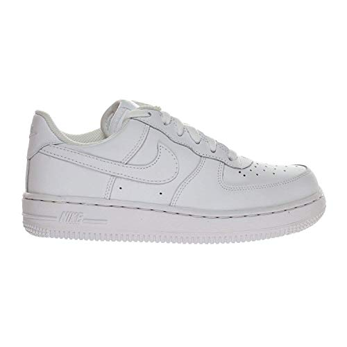 Nike Air Force 1 (PS) Preschool Little Kids Shoes White 314193-117 (1.5 M US) ()