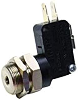 product image for Clippard MAS-1C2-20 Miniature Air Switch, 10 Amp, 20 psig, QC Terminals, 10-32 Port
