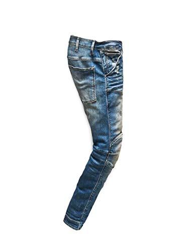 Blue star G 5620 Blu 3d Uomo Jeans Skinny aCra0