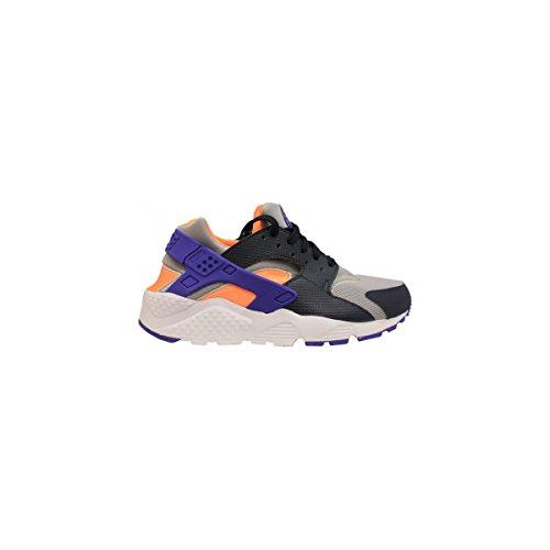 Nike Huarache Run (GS), Zapatillas de Running para Niños US Nios 5.5|Gris Lobo