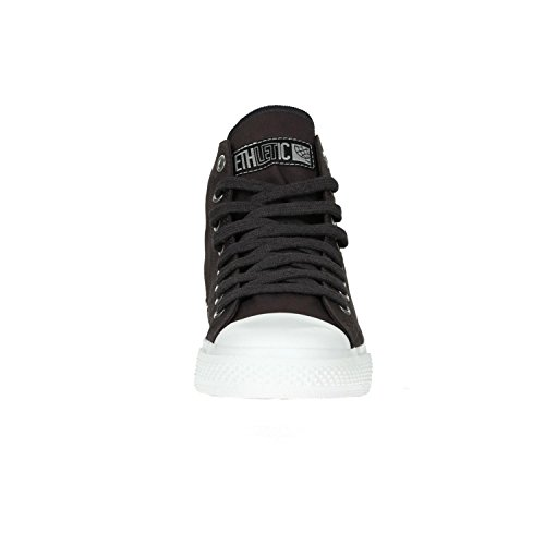 Ethletic Sneaker Vegan Hicut Collection 17 - Farbe Pewter Grey/Just White Aus Bio-Baumwolle