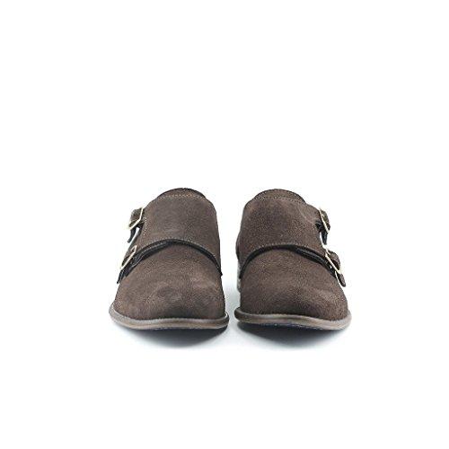 Made Mönch Herrenschuhe Italia Mit Schuhen Bügel DARIO MARRONE in Doppelten Wölbungs rrnA10w