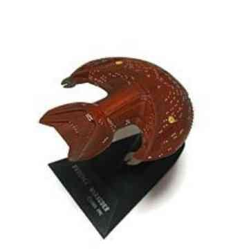 Star Trek Furuta Ferengi Marauder Mini Starship Model