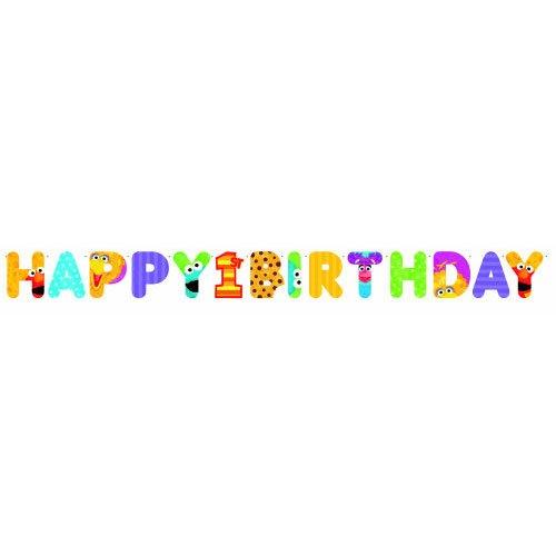 Sesame Street 1st Birthday – Jumbo Letter Banner Kit, Health Care Stuffs