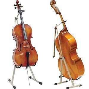 ingles adjustable cello and bass stand musical instruments. Black Bedroom Furniture Sets. Home Design Ideas