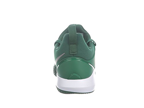 Zapatillas De Baloncesto Nike Hombres Zoom Shift Nylon Gorge Green / White