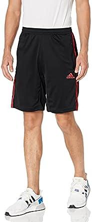 adidas Mens Designed 2 Move 3-Stripes Primeblue Shorts