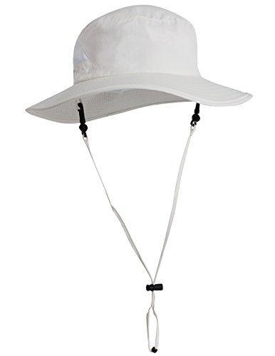 Tuga Adult UPF 50+ Playa Bucket Hat, Cream, Adult Medium