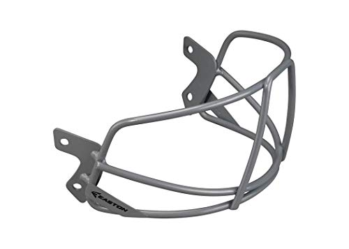 (Easton 8065529 Universal Baseball / Softball Mask, , Grey)