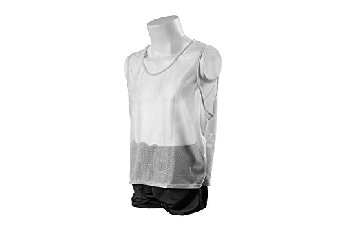 Kwik Goal Youth Deluxe Scrimmage vest (White)