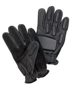 Rothco Full Finger Rappelling Glove, Black, Large