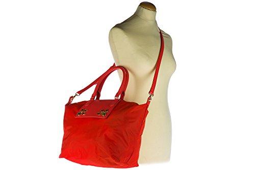 Patrizia Nylon Borsa Col By Red Shopping Pepe Richiudubile A1zl brown 2v6581 ZYrwzpqY