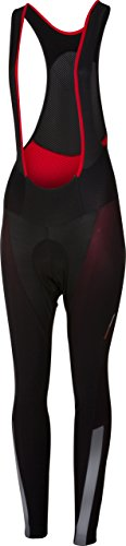 - Castelli Sorpasso 2 Bib Tight - Women's Black/Reflex, M