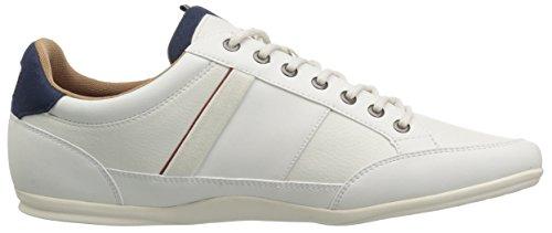 Sneakers Chaimon Lacoste Da Uomo In Bianco / Nvy Sintetico
