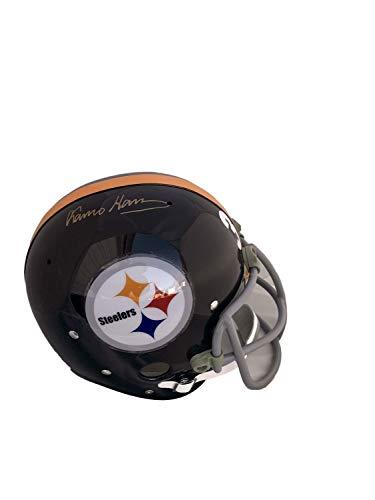 Franco Harris Pittsburgh Steelers Rk Autographed Signed Full Size Helmet Memorabilia - JSA Authentic