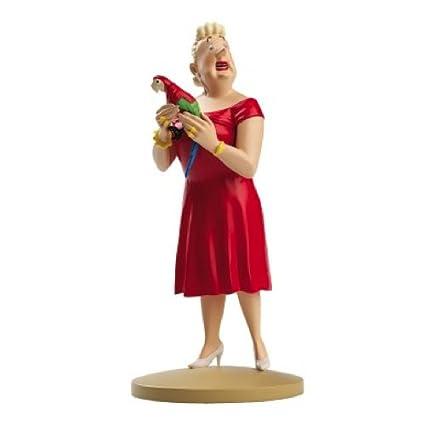 Figura de colección Tintín Castafiore papagayo 13cm ...