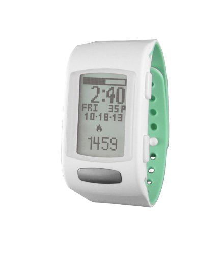 LifeTrak Core C200 24-hour Heart Rate Watch, White Pistachio