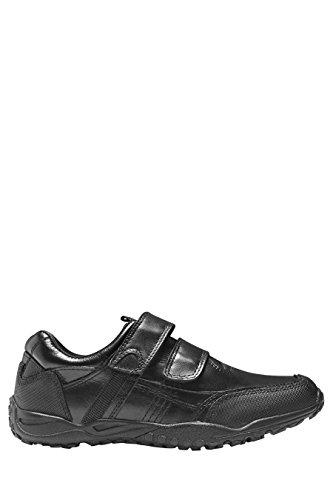 next Para Niños Zapatos Zapatillas Deportivas Dos Tiras Velcro (Niño Mayor) Negro