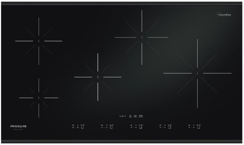 "Frigidaire FGIC3667MB Gallery 36"" Black Electric Induction Cooktop"