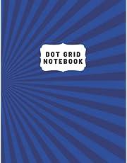 Superhero Blue Bullet Journal Notebook 8.5 x 11 Bullet Journal: Dot Grid Journal Notebook Bullet Journal Kit
