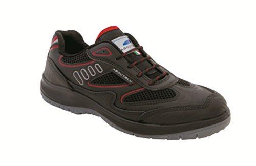 Taille nbsp;Chaussures S3 1930010la 47 Aboutblu Red de Travail nbsp;Eagle Black Red 47 Black x1Snx
