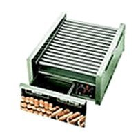 Star Mfg Grill Max 1535-W Grill f/ 50 Hot Dogs w/ Bun Drawer