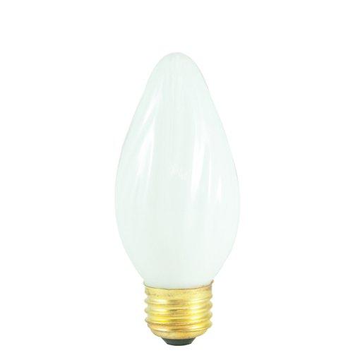 Bulbrite Incandescent F15 Medium Screw Base (E26) Light Bulb, 25 Watt, White