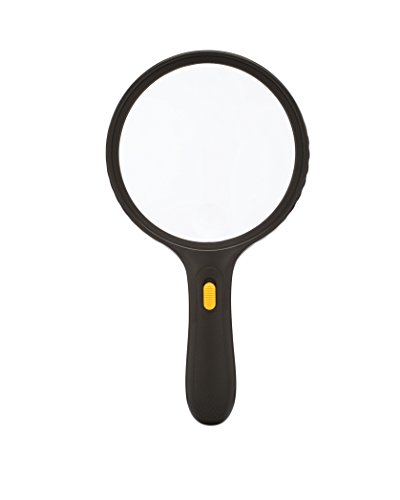 MagnifyLabs HUGE 5.5 Inch LED Magnifier (2X Magnification; 5X Zoom Window) (Holographic Computer Monitor)