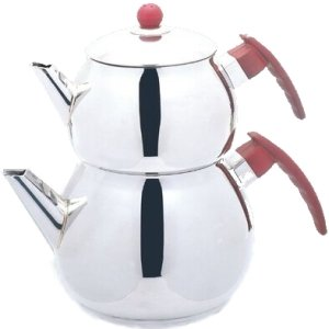 Stainless Steel Turkish Tea Pot Size No :1