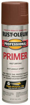 Rust-Oleum Professional Primer Spray Paint, 15-Ounce