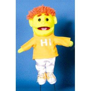 Sunny Toys GL3901 14 In. Black Light Boy44; Glove - Puppets Black Light