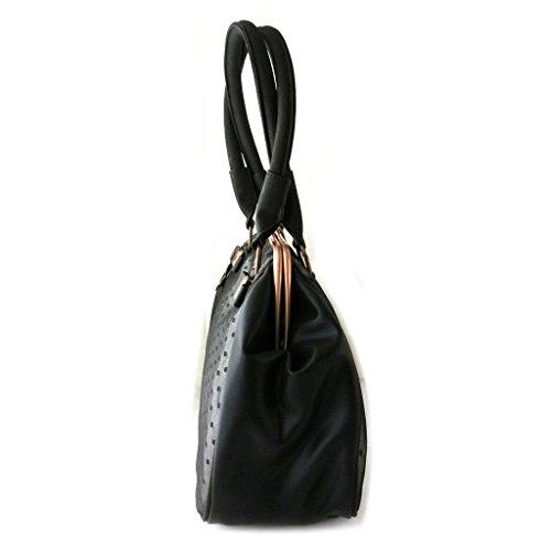 Bag designer Lollipopsnero (pizzo)- 40x26x17 cm.