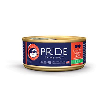 Nature's Variety Pride by Instinct Grain-Free Flaked Starlet's Salmon Canned Cat Food, 5.5 oz., Case of 12 Review