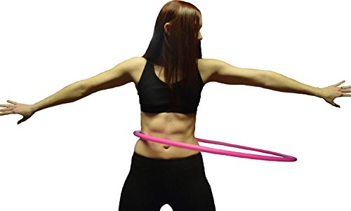 "Weighted Fitness Hula Hoop. Great for Exercise, Dancing, Staying in Shape and Having Fun! (Sky Blue, Fitness Hoop 36"")"