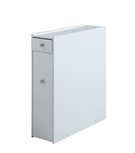 31vp8bFBtzL - Proman Products Bathroom Floor Cabinet Wood in Pure White