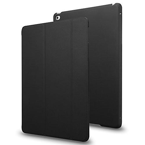 INVELLOP iPad Mini 4 case, Black [Slim Fit] Case Cover for Apple iPad Mini 4 (2015 Release) (Fits ONLY iPad Mini 4th Generation) (Black)