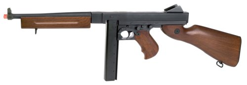 - Soft Air Thompson M1A1 Full-Metal Body AEG airsoft gun